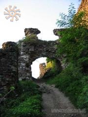 Castle gate in Khust