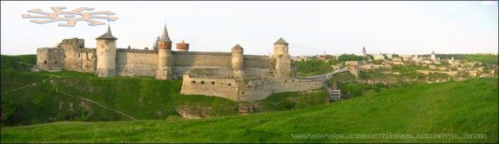 Old Fortress in Kamianets