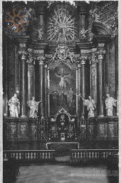 The altar of St. Peter and Paul church in Lviv