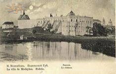 The castle in 1911. Photo by Michal Grejm.