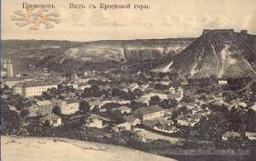 Castle and town in 1910