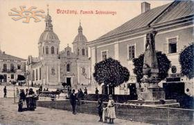 Old postcard. Berezhany
