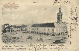 Berezhany. Town-hall in 1902