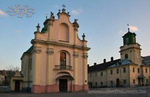 Lviv's church of st. Martin and cells.