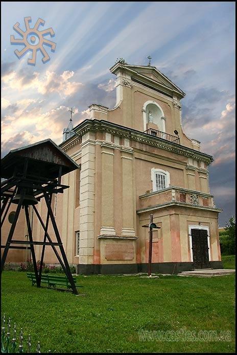 Костел в Тарноруді