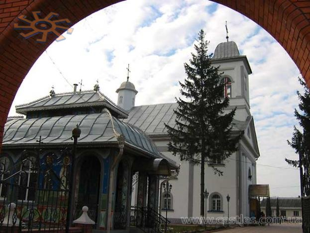 A church in Boyany