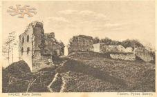 Castle in the beginning of 20th c.