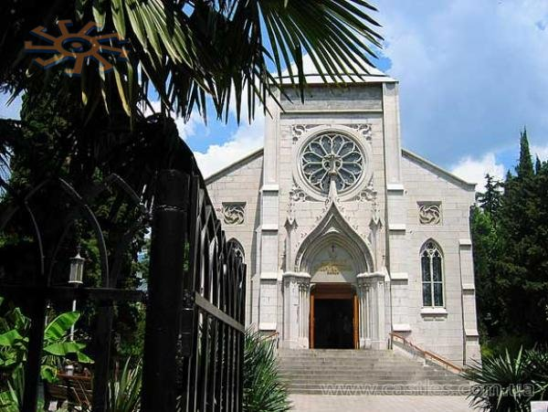 Church of the Immaculate Conception in Yalta