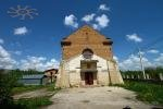 An old Roman-Catholic chapel, now a private residence. Ostriv, Ukraine