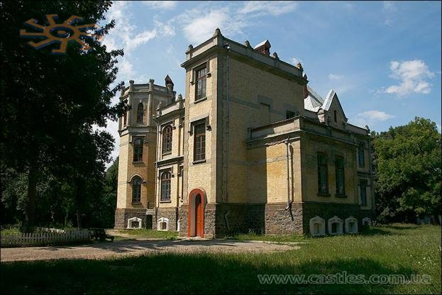 Palace in the village of Mytky in Ukraine