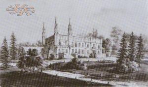 Н.Орда. 1873. Палац в Чернятині