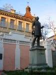Monument to Russian poet A.Pushkin.