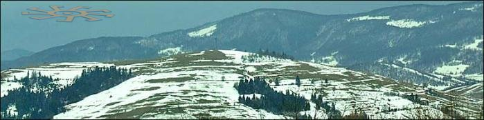 The Carpathians in winter