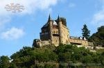 Katz Castle (Burg Katz) is a castle above the town of St. Goarshausen in Rhineland-Palatinate