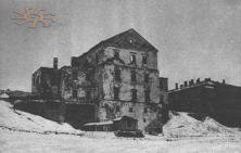 Ternopil castle during WWI