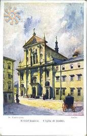 Jesuit's church in Lviv