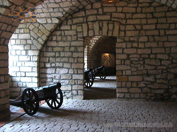 The exposition of the weapon in the castle's casemates